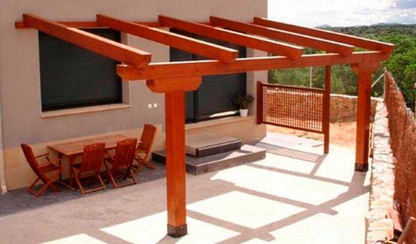 porche-madera-una-agua-sin-techo